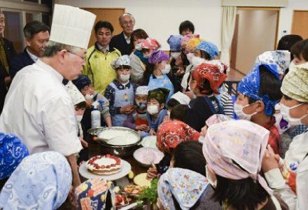 日本児童育成園ケーキ作り_イメージ