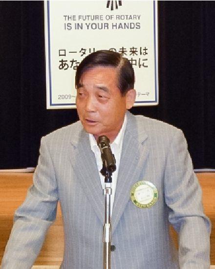 2010年度会長 牧村 実