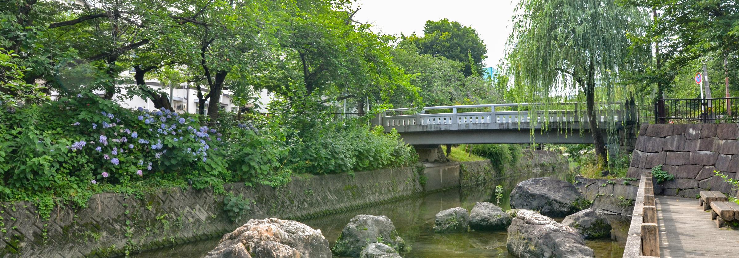 中山道加納宿跡