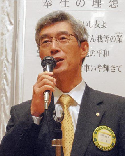 2007年度会長 河野 俊昭
